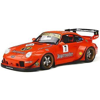 Porsche RWB 993 #7 Jagermeister 1:18 Scale GT Spirit KJ039