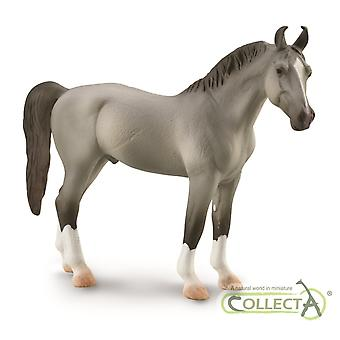 CollectA Marwari Stallion (Grey) Collectable Horse Figurine Roleplay Toy