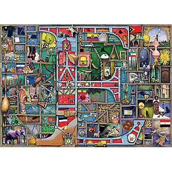 "Ravensburger Colin Thompson Awesome Alphabet ""E"" Legpuzzel (1000 stukjes)"
