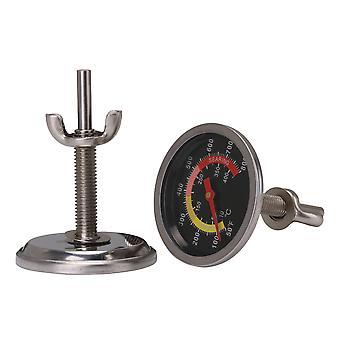 2 PCS Charcoal Grill Jauge de température 6cm Dia avec Fahrenheit Outdoors