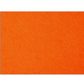 A2 Giant Super Dikke Oranje Polyester Vilt Sheet voor Ambachten