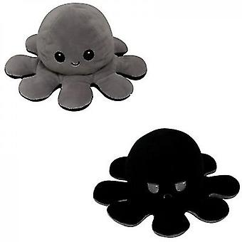 Sequin Double-sided Flip Reversible Doll,octopus Plush Toy