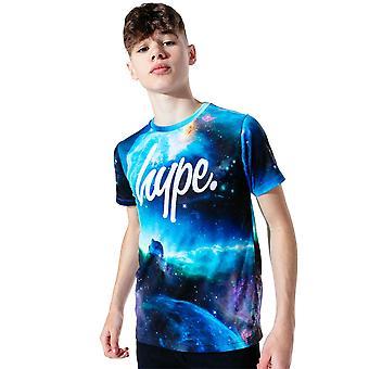 Hype Kids Galatic T-Shirt Printed Crew Neck Koszulka z krótkim rękawem Tee Top