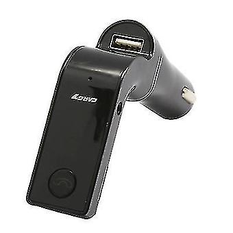2.1A car charger with Bluetooth transmitter Function(Black)
