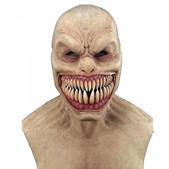 Haljennut hammasnaamio Ahdistelija Kauhunaamio Lateksi Halloween-naamio