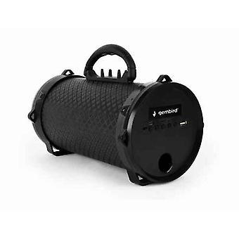 Altoparlanti Bluetooth Portatili GEMBIRD SPK-BT-12 5 W 1200 mAh Nero