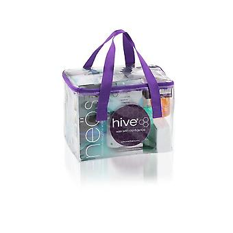 Hive Of Beauty Waxing Neos Heater Depilatory Or Paraffin Wax Lotion 1000cc Kit