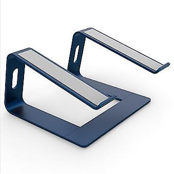 Laptop Stand - Laptop Riser Stand pentru birou - Aluminiu ergonomic Laptop Holde (Albastru)