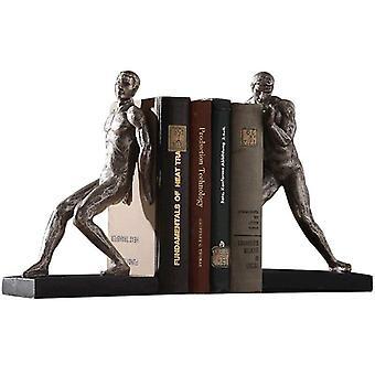 Pohjoismainen nastavoimistelu Body Bookend Ornament Minimalist Creative Book Stand Home