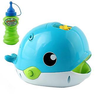 Automatische Blasenmaschine Blower Bubble Maker pro Minute für Kinder (weiß und blau)