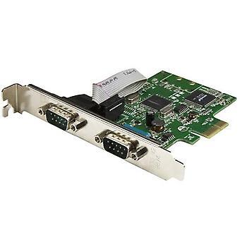StarTech.com PCI Express serielle Karte mit 2 Ports und 16C1050 UART - RS232, PC