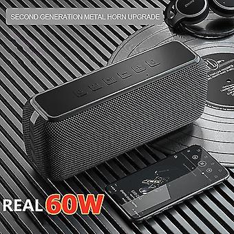 Speakers high power portable bluetooth speaker deep bass column stereo portable speakers black