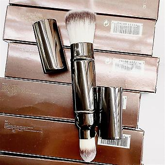 Makeup brushes retractable double ended complexion makeup brush cosmetics brush tools|eye shadow applicator
