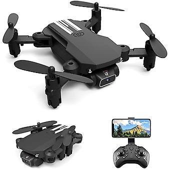 Mini Rc Drone 4k Hd Wifi Fpv Photo Vidéo Piste Combat Altitude Tenir Sans Tête Rc Quadcopter