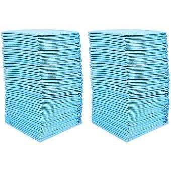100 podložky Ultra Absorbency Toaletné podložky pre domáce zvieratá 33x45cm