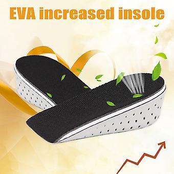 1 paire semelle intérieure talon lifter insert chaussure pad hauteur augmenter le levez le coussin plus haut