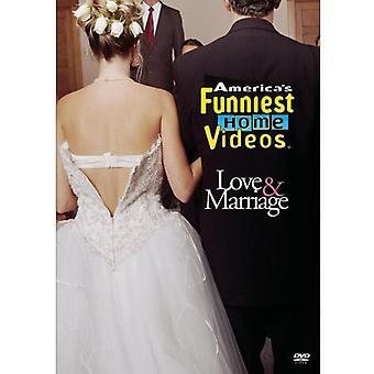 Vídeos caseros más divertidos de América: importación de Estados Unidos de amor y matrimonio [DVD]