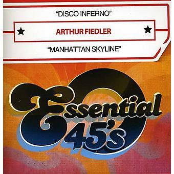 Arthur Fiedler - importación de USA de Disco Inferno y Manhattan Skyline [CD]