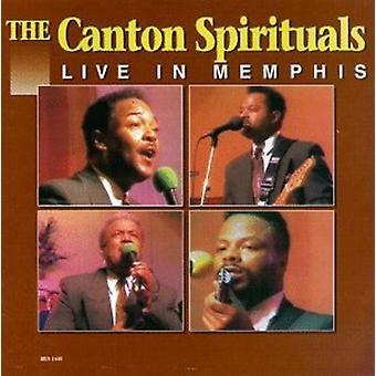 Canton Spirituals - Live in Memphis [CD] USA import