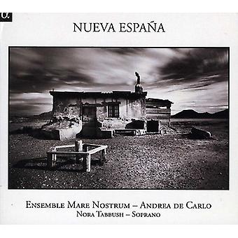Nora Tabbush & Ensemble Mare Nostrum - Nueva Espa [CD] USA import