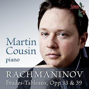 Rachmaninov - Etudes-Tableaux Op 33 & 39 [CD] USA import