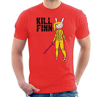 Kill Finn Adventure Time Kill Bill Men's T-Shirt