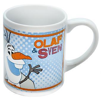 Frozen Olaf y taza de cerámica de 8oz de Sven infantil Disney