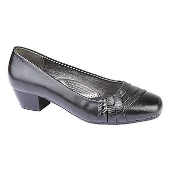 Boulevard Womens/Ladies Reptile Vamp Court Shoe