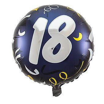 Folienballon Geburtstag Zahl 18 Ehrentag circa 45cm