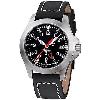 KHS zegarki męskie zegarek GMT LDR KHS plutonu. PGLDR. LBB
