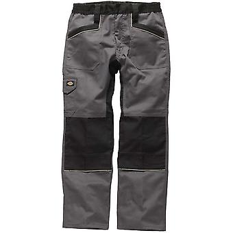 Dickies Mens industry 260 Workwear Trousers Grey Black IN1001G