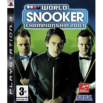 World Snooker Championship 2007 (PS3) - Neu