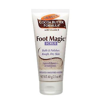 Palmer's cacaoboter formule voet magische Scrub 60g