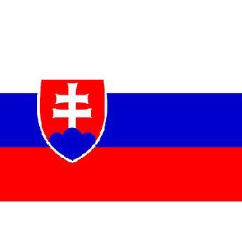 Vlag van Slowakije 5 ft x 3 ft met oogjes voor verkeerd-om