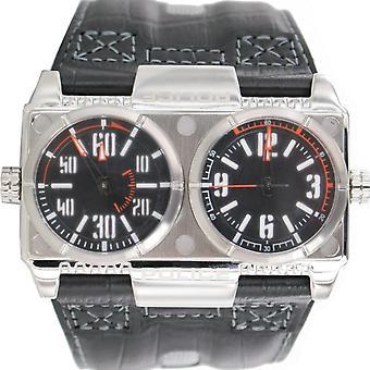 Police montre montre-bracelet en cuir analogique PL. 12899XS/02