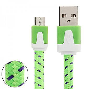 3m USB data and charging cable green for all Smartphone and Tablet micro USB