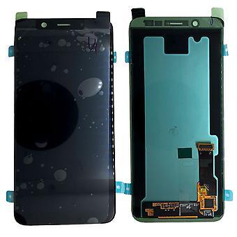 Samsung wyświetlić LCD kompletny zestaw GH97 21878A czarny Galaxy A6 plus A605 2018