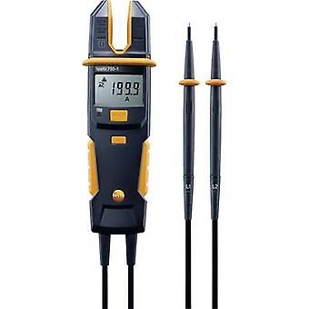 testo 755-1 Handheld multimeter, Clamp meter Digital CAT IV 600 V, CAT III 1000 V Display (counts): 4000