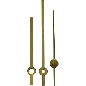 Clockhand set Polished/Standard Brass Brass Slot