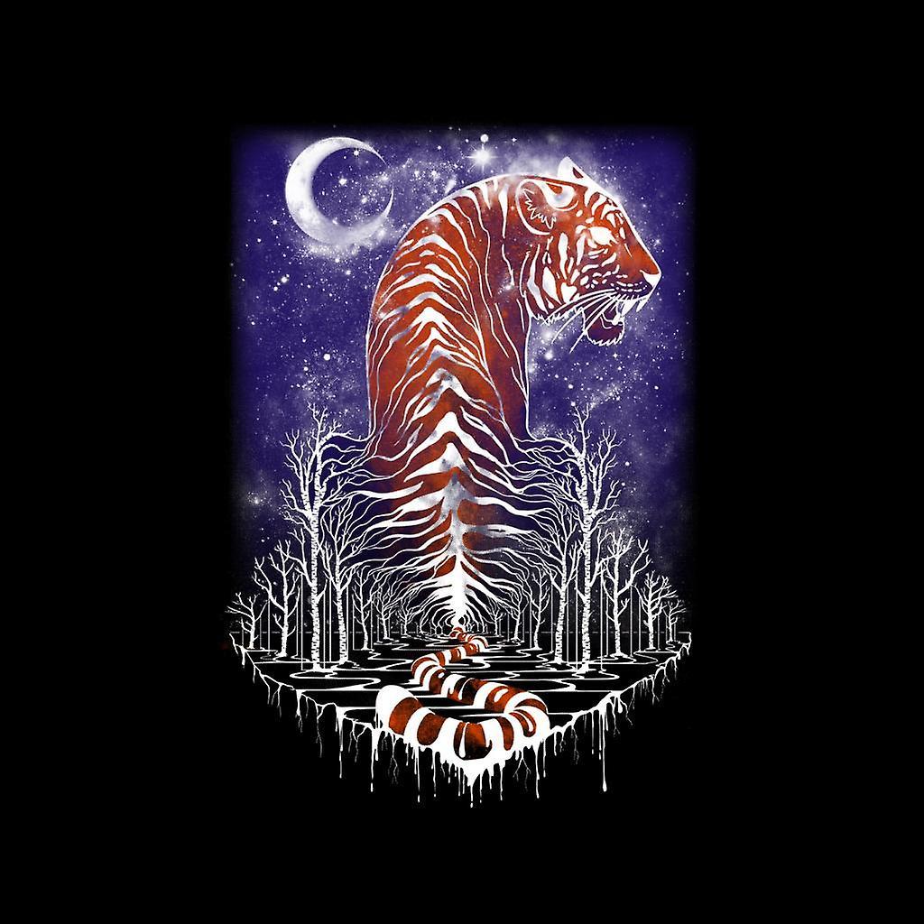 Señor de chaqueta Varsity de infantil el bosque de Tiger