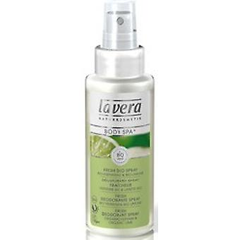 Lavera kroppen Spa Lime Deo Spray, 75ml
