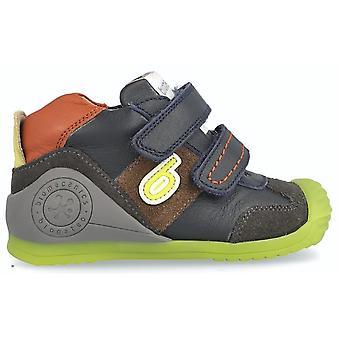 Biomecanics Boys 181155-A Ankle Boots Marino Blue Multi
