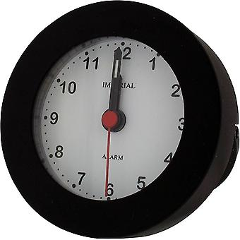 Gift Time Products Stand in Box Round Alarm Clock - Black