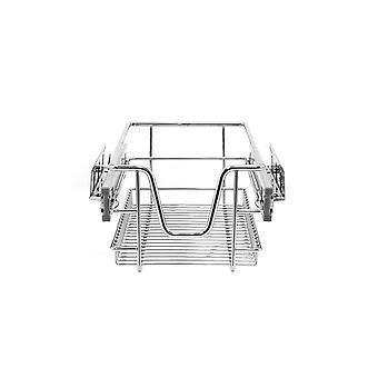 2 paniers de fil de rangement de cuisine sortent le tiroir Larder Cupboard Chrome 30cm Unité