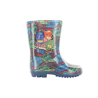 PJ Masks Boys Meavy Flashing Wellington Boots UK Sizes Child 5-12
