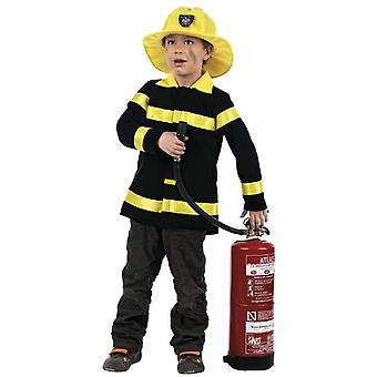 Firefighter kids costume fire fire extinguisher costume children