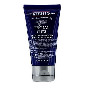 Combustible Facial de Kiehl's energizante tratamiento de humedad para los hombres - 75ml/2.5 oz