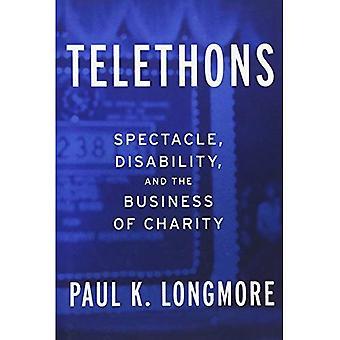 Teletones: Espectáculo, discapacidad y el negocio de la caridad