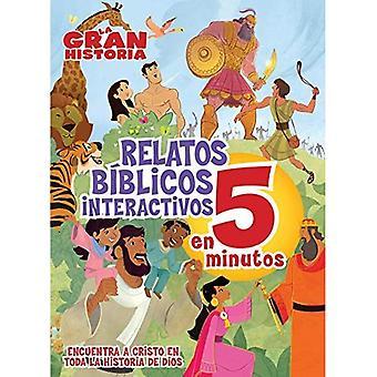 La Gran Historia, Relatos Biblicos En 5 Minutos, Tapa Dura (Gospel Project)