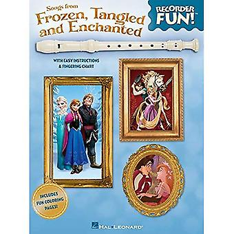 Songs from Frozen, Tangled and Enchanted Recorder Fun!